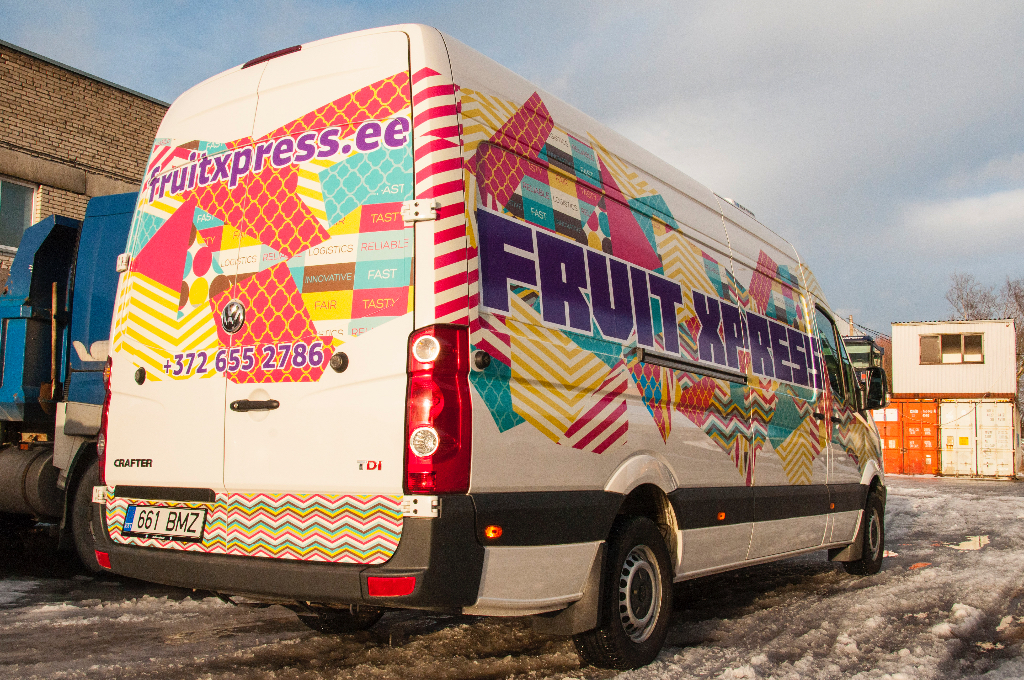 FRUITEXPRESS autokleebised